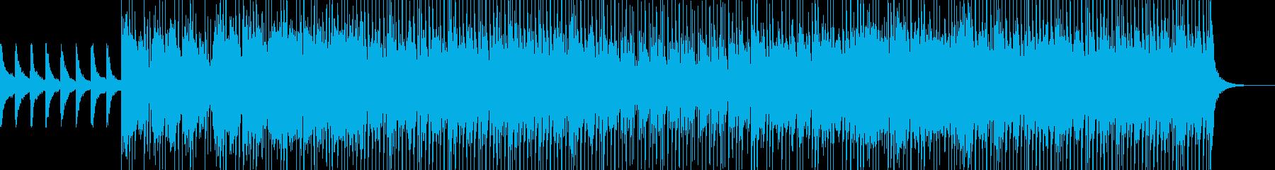 House saxの再生済みの波形