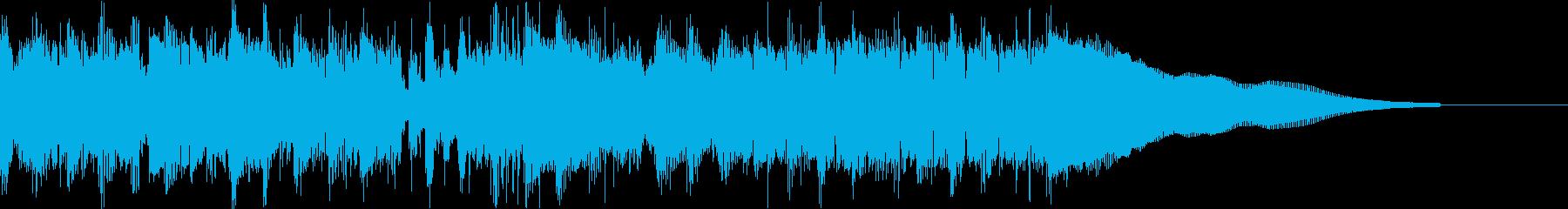 カントリー風ギターイントロ−07Fの再生済みの波形