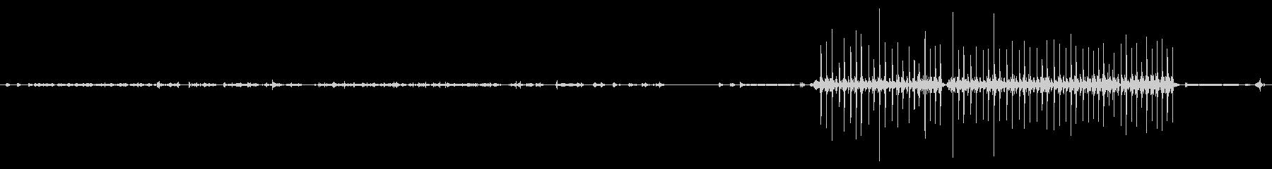 電気:タイピングシングルライン、ラ...の未再生の波形