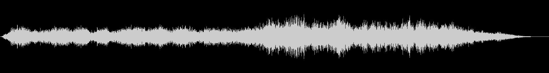 ゴーストプールの未再生の波形