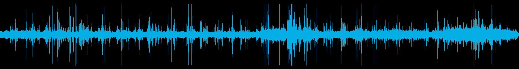 重機が建物を解体している音 14の再生済みの波形
