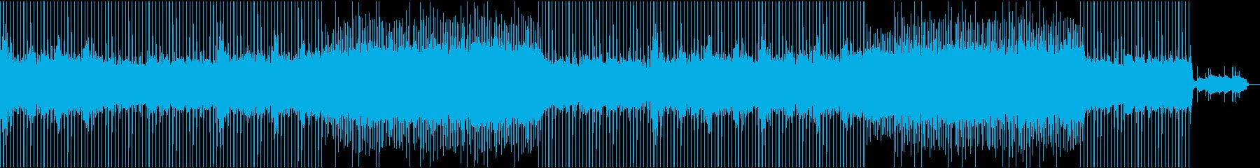 切ない今風のポップ・ミュージックの再生済みの波形