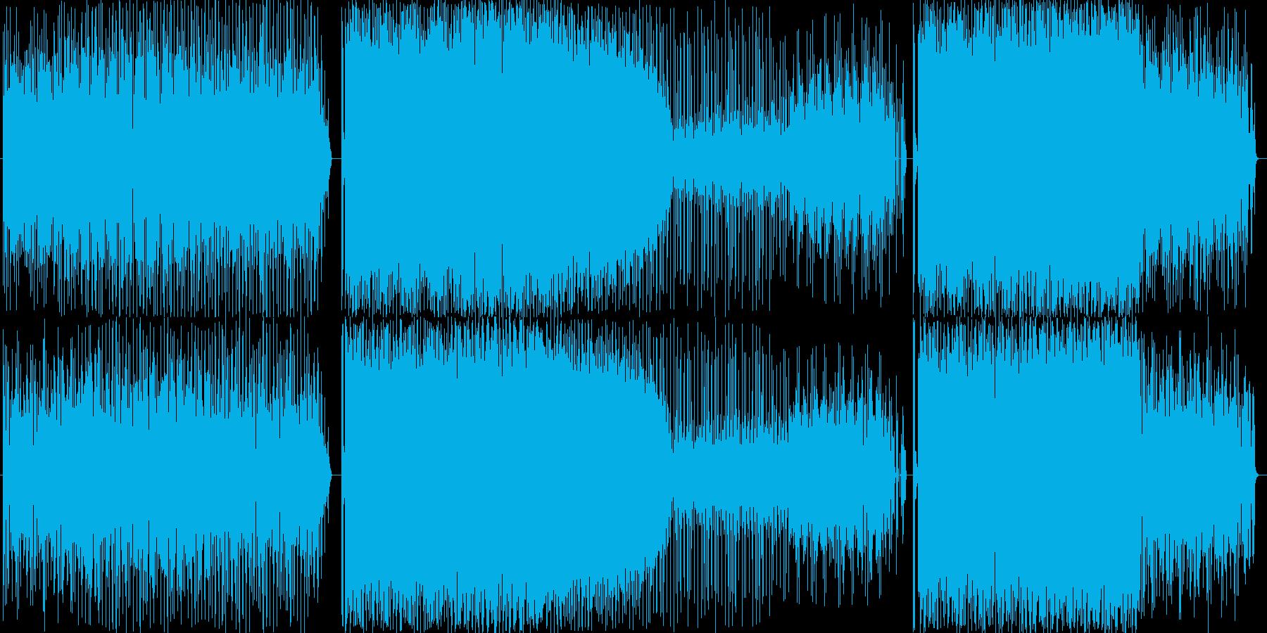 テクノです。バスドラ以外はすべてカオシ…の再生済みの波形