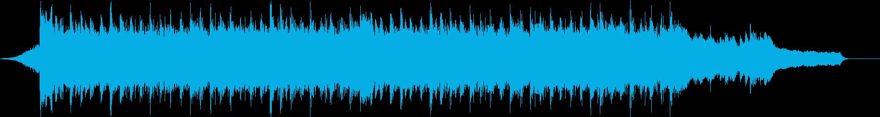 企業VP系64、爽やかピアノ、4つ打ちcの再生済みの波形