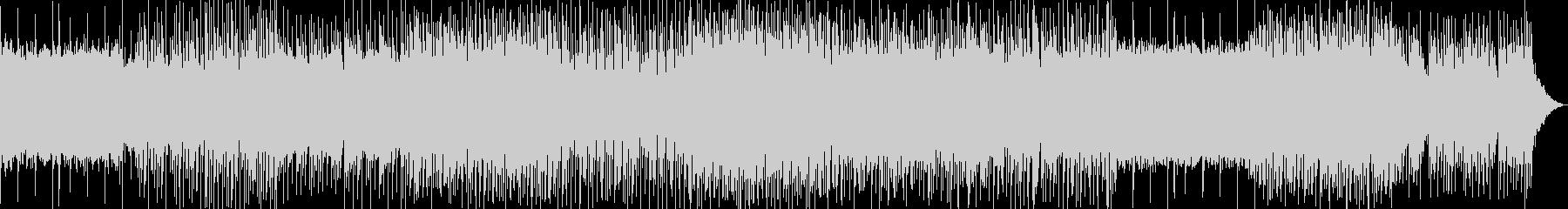 怪しげなコード進行とポップなピアノの曲の未再生の波形