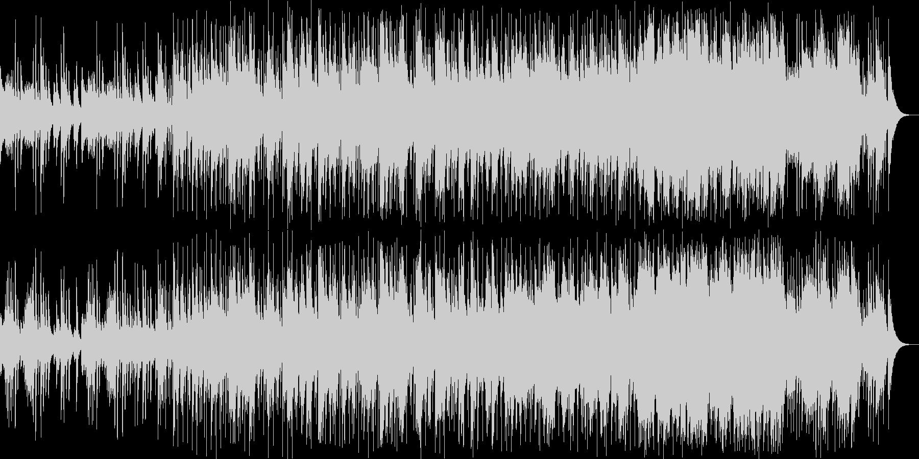 和楽器とスローグルーヴの心地よいコラボの未再生の波形