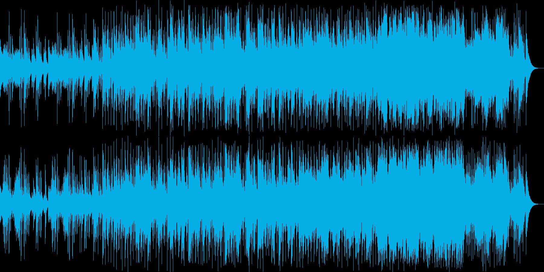 和楽器とスローグルーヴの心地よいコラボの再生済みの波形