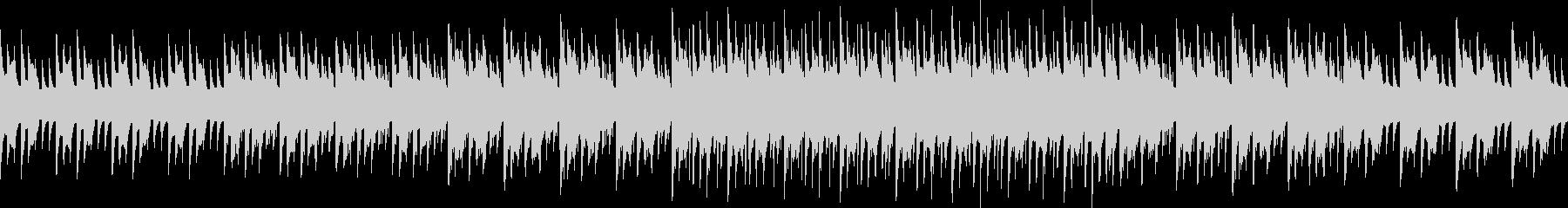 感動的、ピコピコしたファミコンぽいBGMの未再生の波形