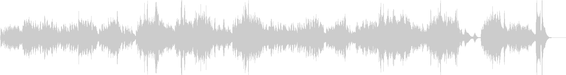 エルガー「朝の歌」/バイオリン生演奏の未再生の波形