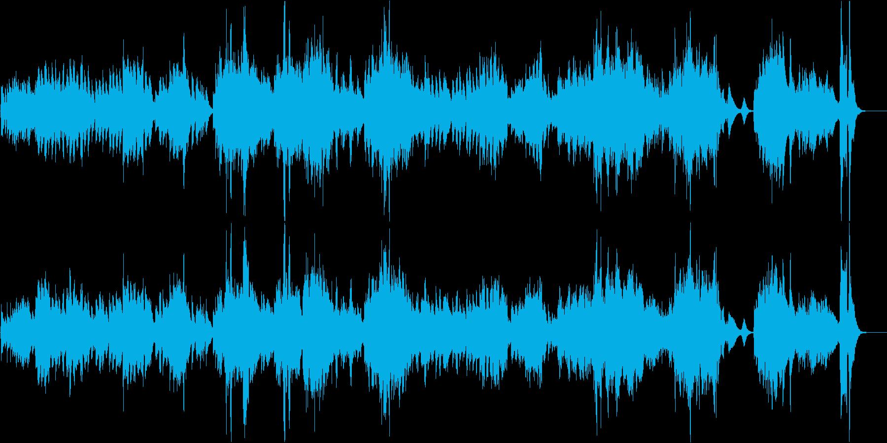 エルガー「朝の歌」/バイオリン生演奏の再生済みの波形