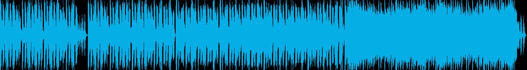 ほのぼのした明るいBGMの再生済みの波形