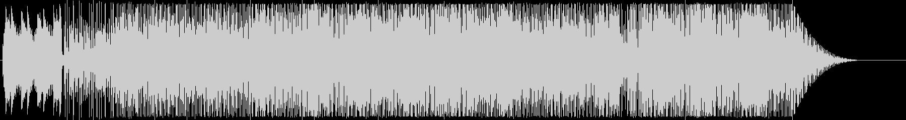 サンバっぽい雰囲気のインストの未再生の波形