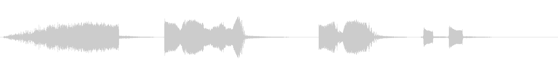 フォースターサウンド、SCI FI...の未再生の波形