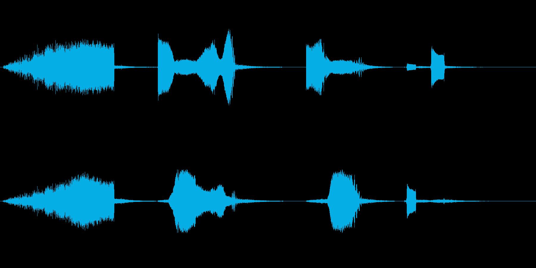 フォースターサウンド、SCI FI...の再生済みの波形