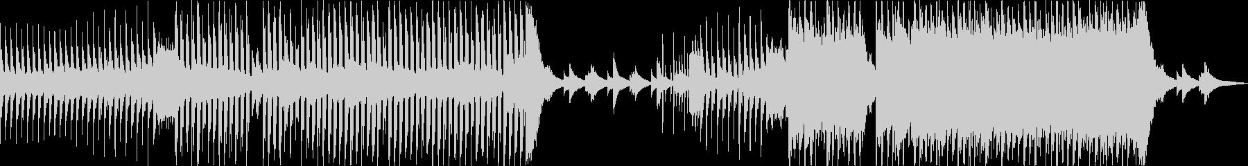 爽やかなハウス系のアメイジンググレイスの未再生の波形