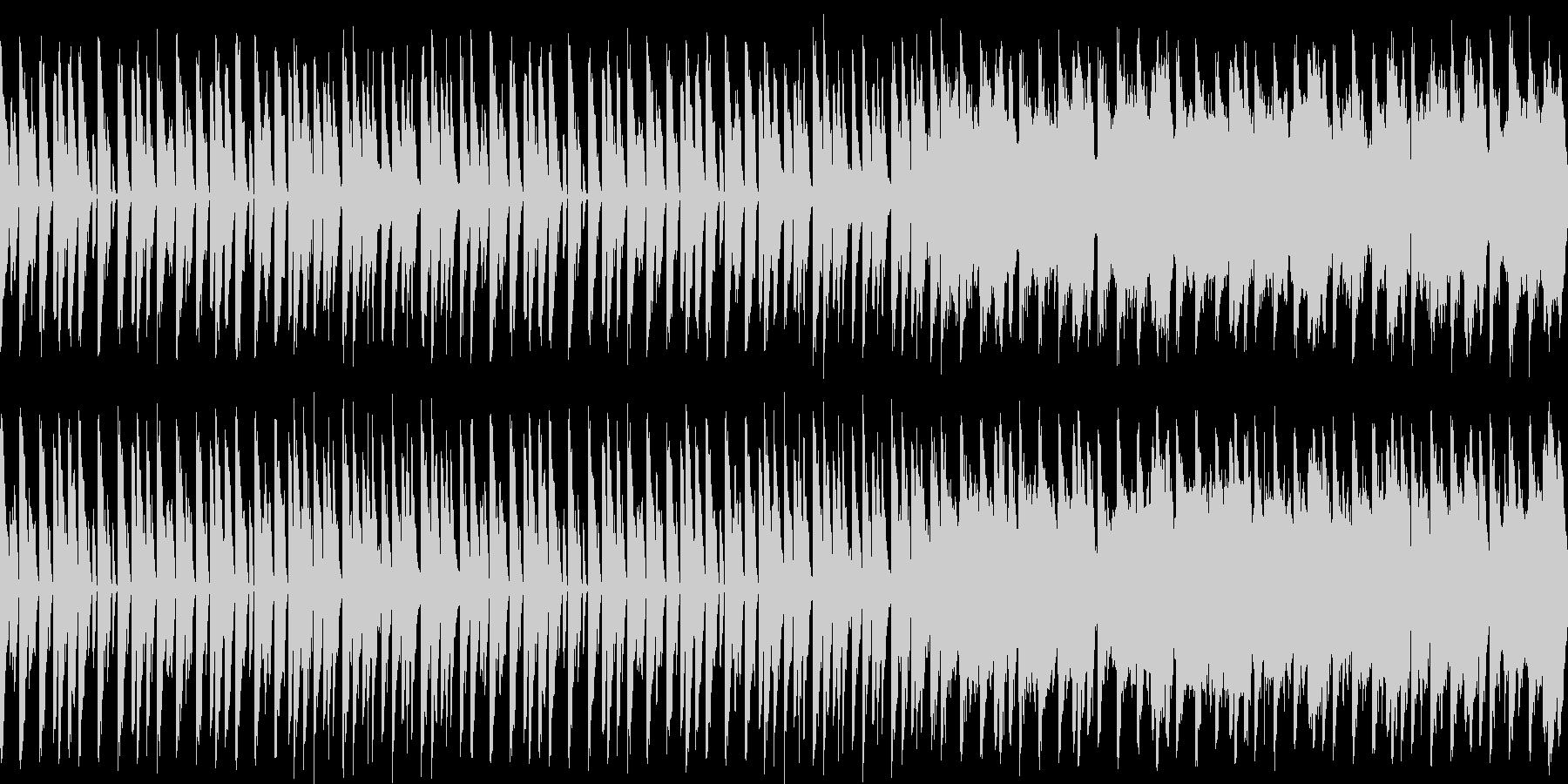 コミカルでかわいい感じのシンセ系BGMの未再生の波形