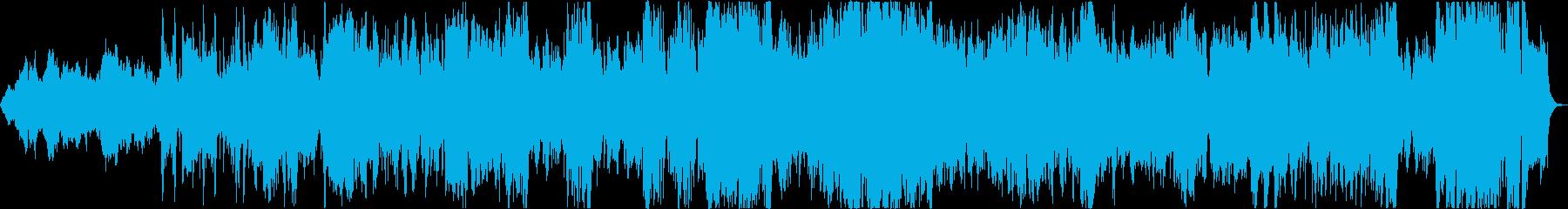 大きな敵を予感させる曲の再生済みの波形