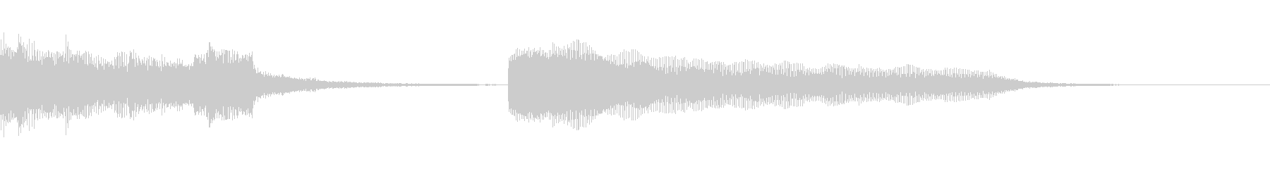 シンセサイザーとハッピーグルーヴが...の未再生の波形