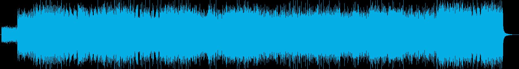 「ハードロック・DEATH」BGM120の再生済みの波形
