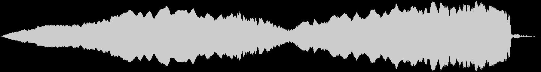 ピューン!2 上昇音の未再生の波形