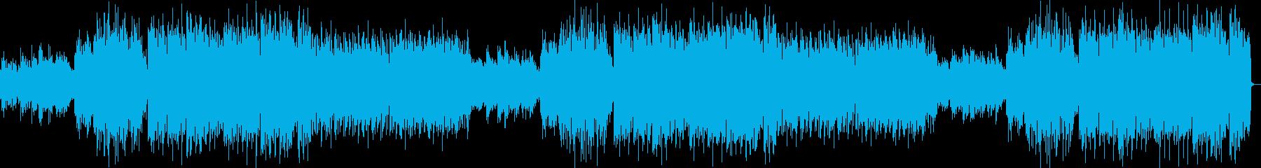 和風・EDM・エキサイティング・激しいの再生済みの波形