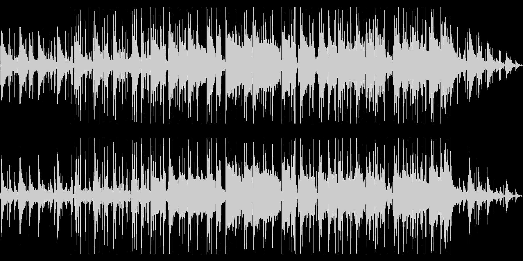 哀愁と懐かしさのあるlo-fiビートの未再生の波形