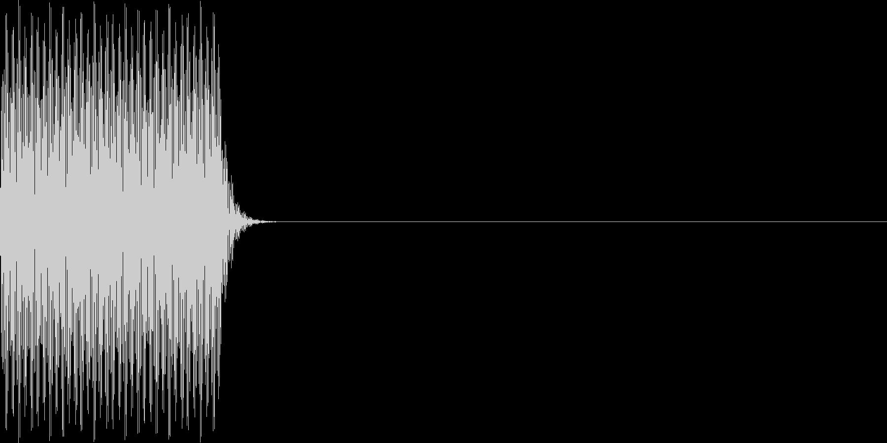 ジョン_にじみ(ボタン)の未再生の波形