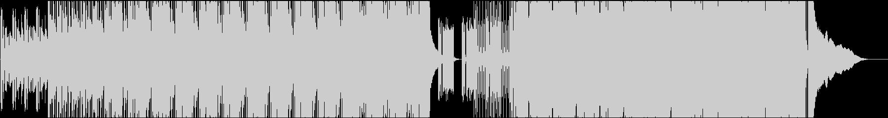 インストピアノロックの未再生の波形
