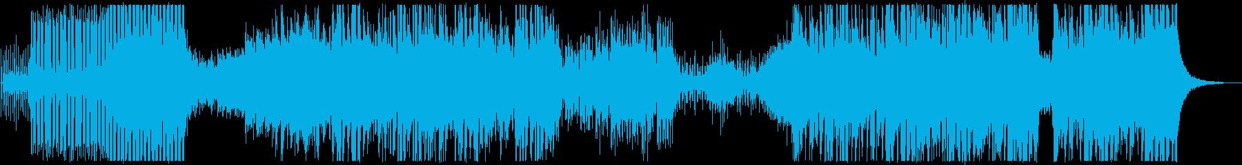 スローミュージカルビルドは、オスチ...の再生済みの波形