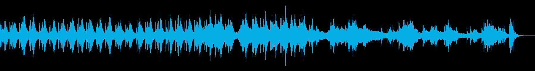 優しい陽射しをイメージしたピアノサウンドの再生済みの波形
