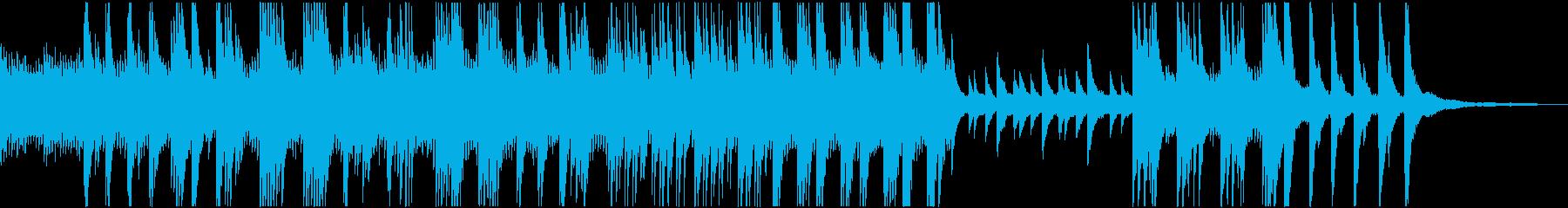 ピアノソロの穏やかな曲です_01の再生済みの波形