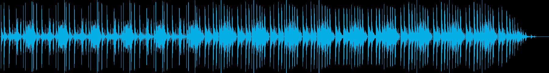 エレクトロHiphopの再生済みの波形