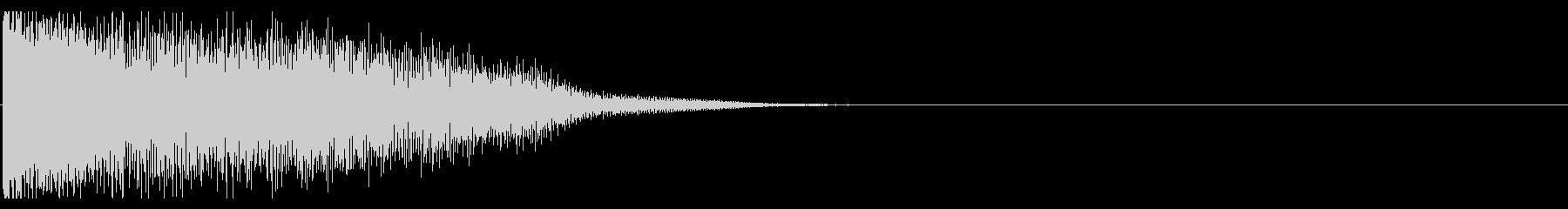 【生録音】ステンレス・スプーンの音 4の未再生の波形