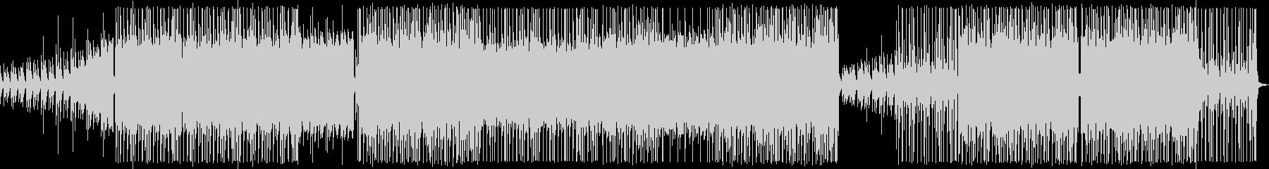 レゲトン×トラップ ヒップホップの未再生の波形