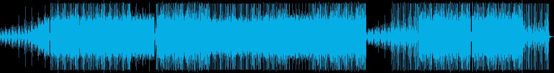 レゲトン×トラップ ヒップホップの再生済みの波形