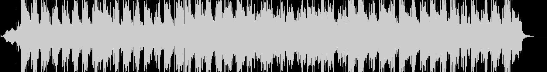 ストリングスのポップなテクノの未再生の波形