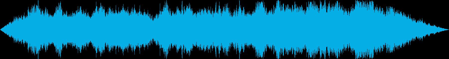 ヨガとマッサージ。脈動無調。の再生済みの波形