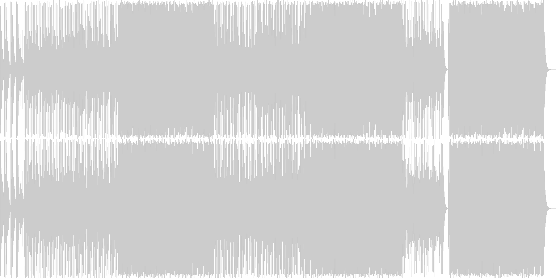 和風/和楽器/掛け声(は!/よ!)/A4の未再生の波形