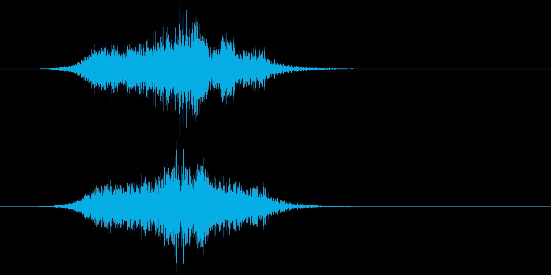 【ホラーゲーム】出現_キーッッッの再生済みの波形
