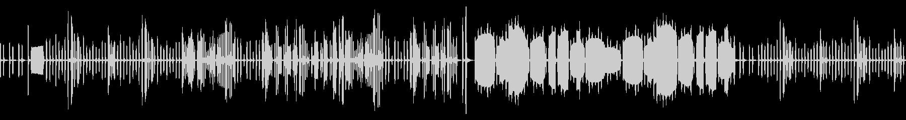 リコーダーのかっこうワルツ(ループ仕様)の未再生の波形