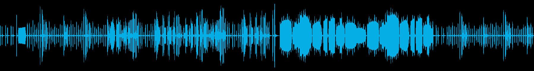 リコーダーのかっこうワルツ(ループ仕様)の再生済みの波形