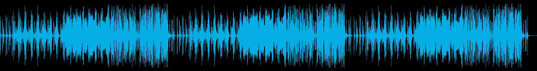 木管楽器が特徴的な少し不気味なインストの再生済みの波形