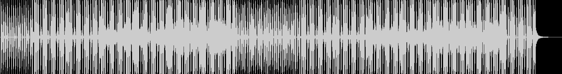 ベースラインが印象的なダンスミュージックの未再生の波形