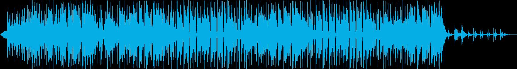 七夕の人の再生済みの波形