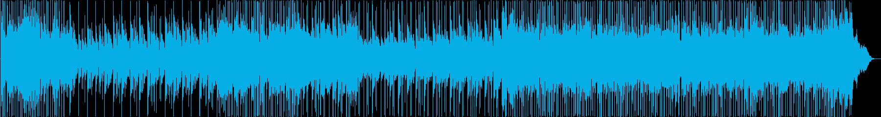 ポップソング。歌として。ビーチで。の再生済みの波形