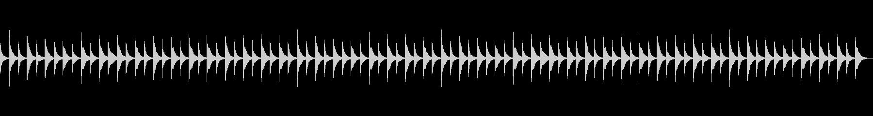 きらきら星  (マリンバ)の未再生の波形