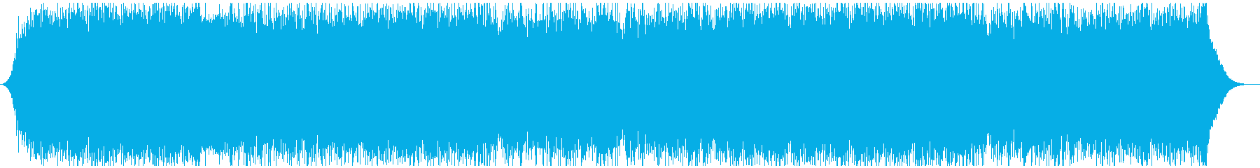 爽やかオープニング映像に ピアノロックの再生済みの波形