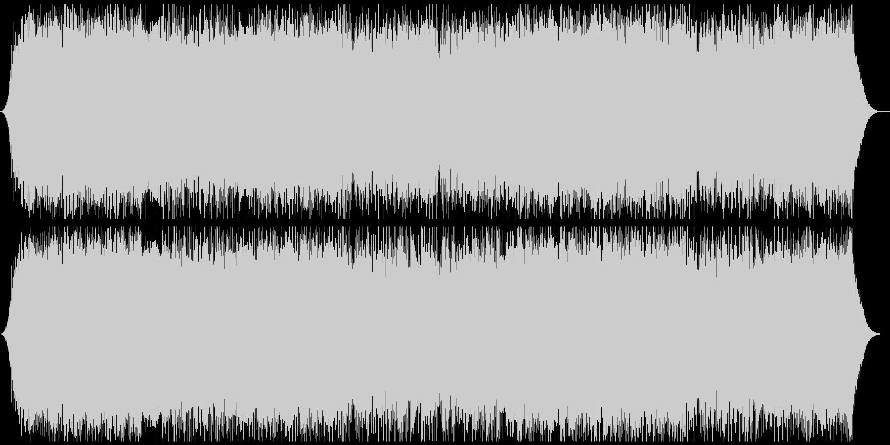 爽やかオープニング映像に ピアノロックの未再生の波形