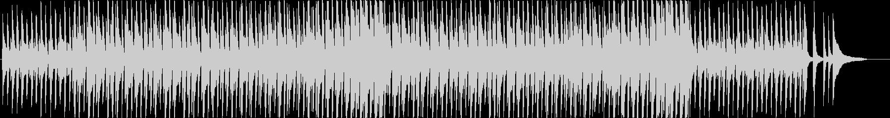 ほのぼのかわいらしいグロッケン・ポップスの未再生の波形