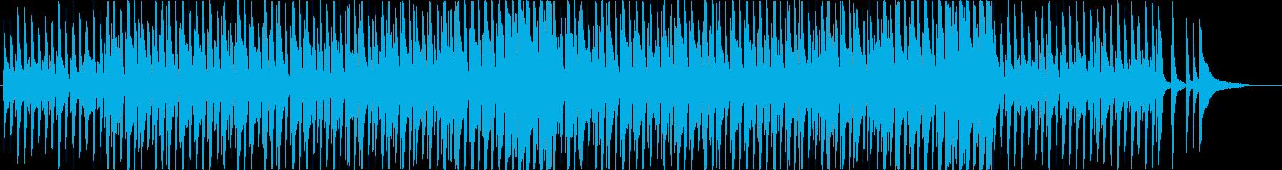ほのぼのかわいらしいグロッケン・ポップスの再生済みの波形